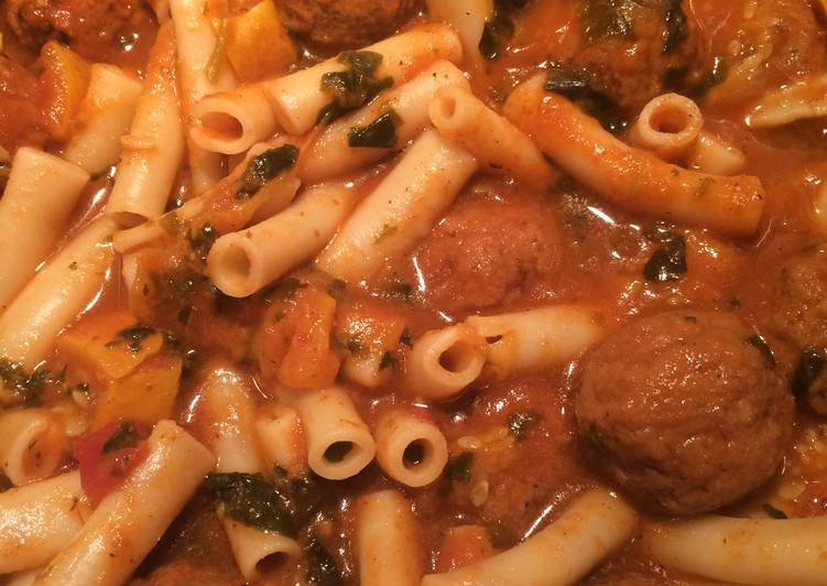Easiest Way to Cook Perfect Sheryl's Florentine Meatball Soup