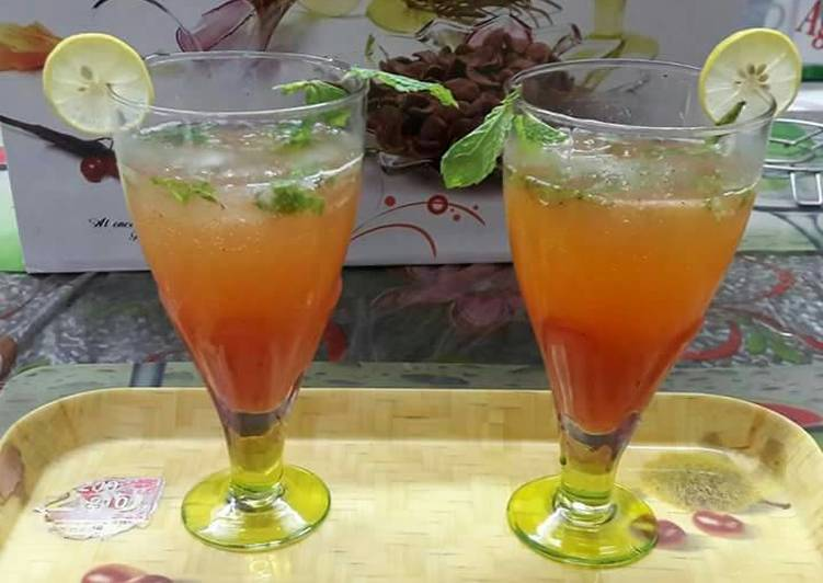 Easiest Way to Prepare Perfect Pink guava moktail