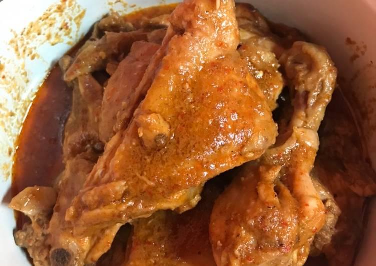 Rendang Ayam ala Mama Nena