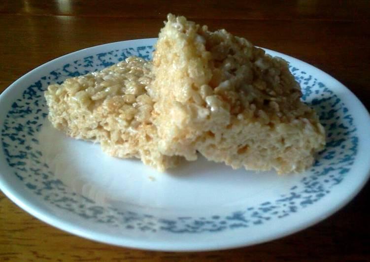 Vanilla Rice Krispie Treats