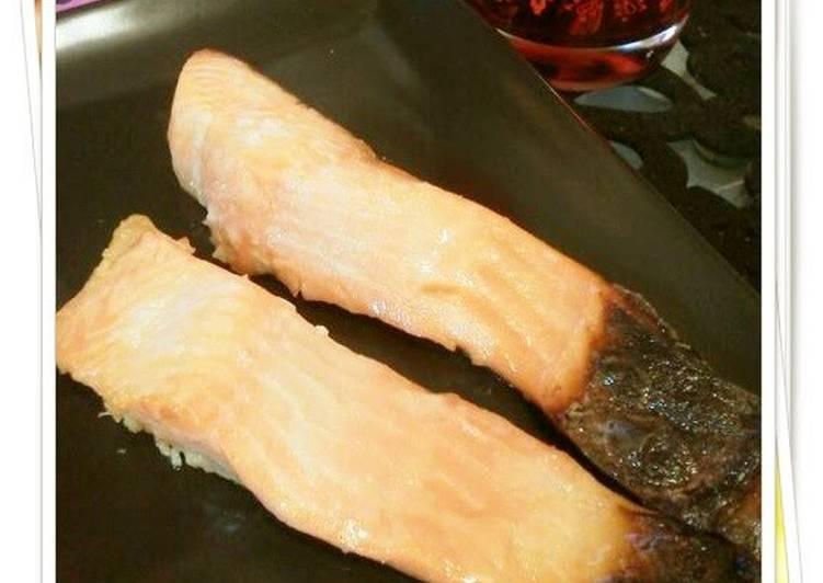 Saikyo-Style Grilled Salmon