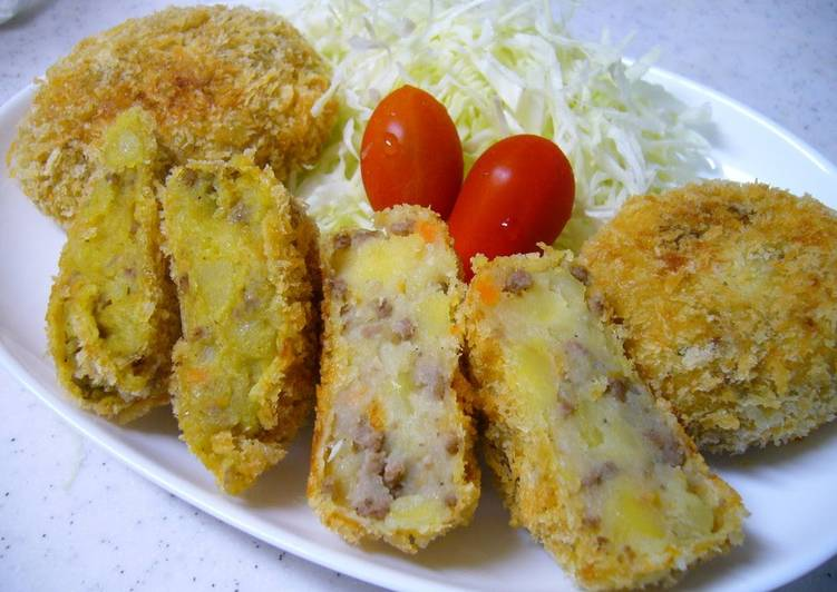 Steps to Prepare Speedy 2 Types of Croquettes