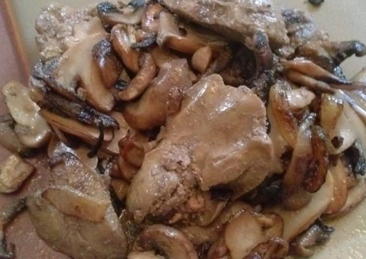 The Meals You Select To Consume Will Certainly Effect Your Health Sauteed Chicken Livers W/ Mushrooms and Onions