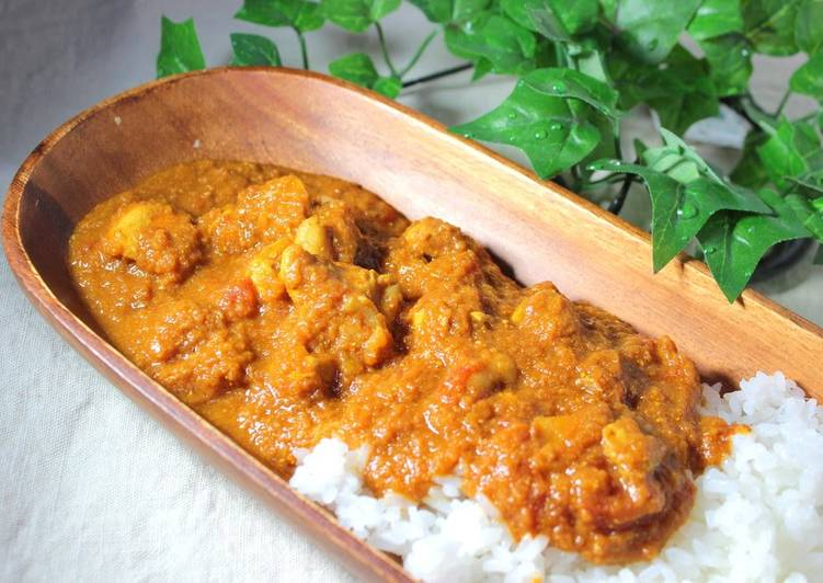 Tomato Curry! Without Using Water
