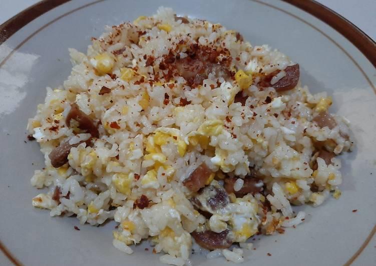 Nasi Goreng Keju Simple