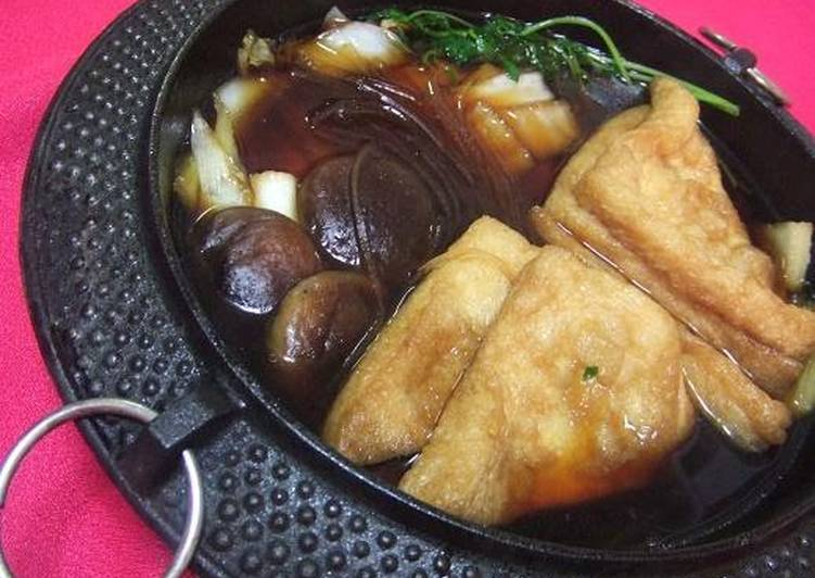 Your Health Can Be Effected By The Foods You Decide To Consume Aburaage Sukiyaki (Buddhist Cuisine)