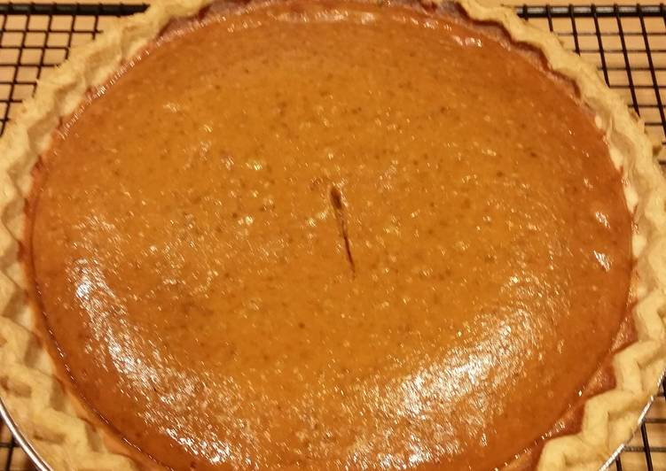 Simple Way to Prepare Award-winning Simple Pumpkin Pie