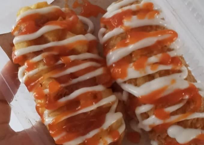 Resep Corndog sosis crunchy  Anti Gagal
