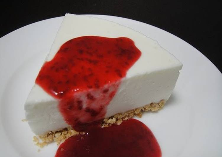 Step-by-Step Guide to Prepare Homemade Rich Yet Refreshing! Simple No-Bake (Rare) Cheesecake