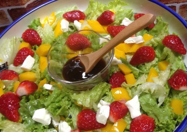 Light de hacer frutas como ensalada