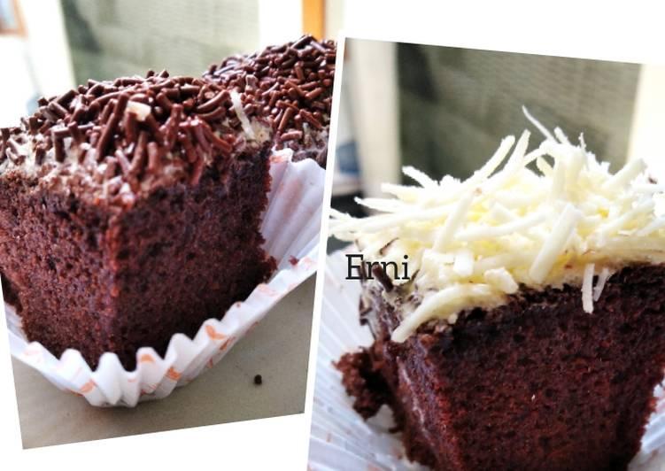 Brownies chocolatos panggang