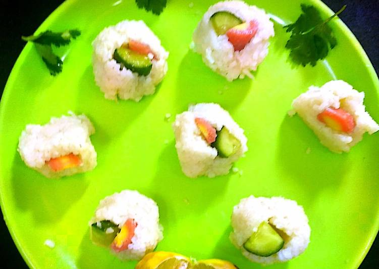 Vegetable Sushi Snacks