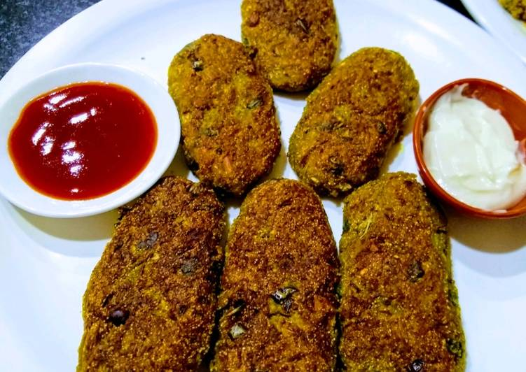 Step-by-Step Guide to Prepare Super Quick Homemade Lauki (Bottlegourd) Cutlets