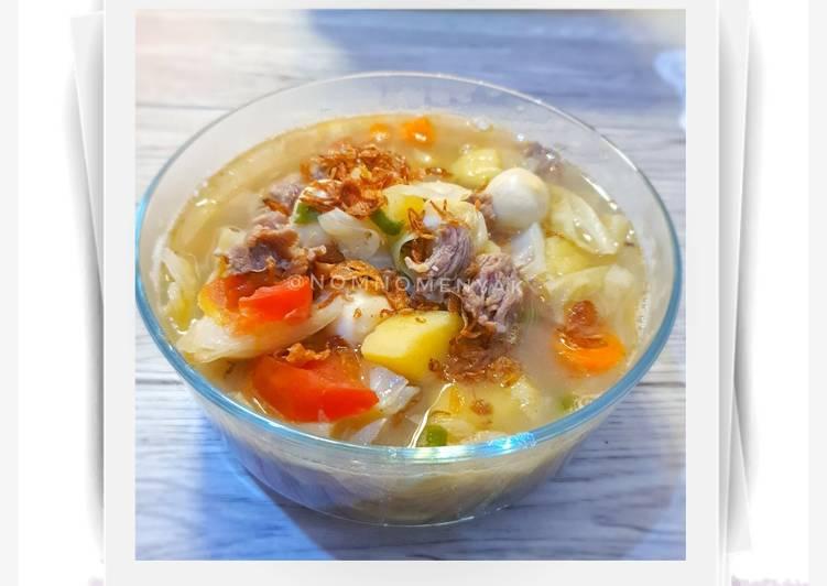 Sup Tetelan Sapi