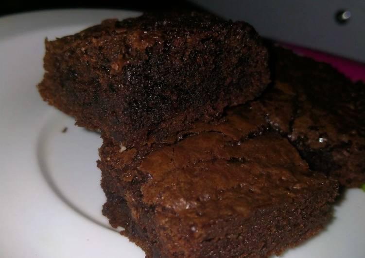 Fudgy brownies legit