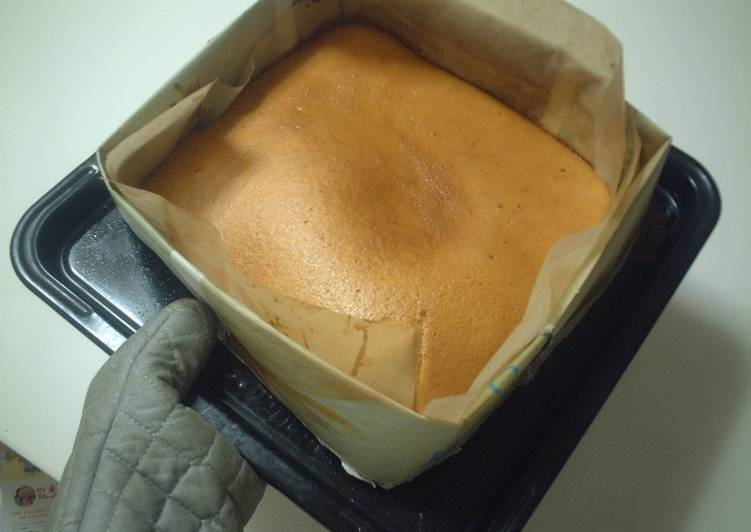 Living Greener for Good Health By Eating Superfoods, Castella Cake in a Newspaper Mold