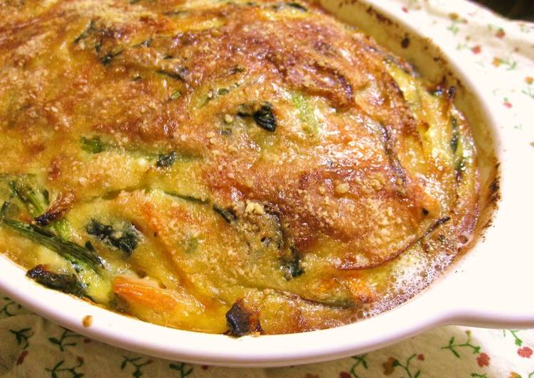 Recipe of Any-night-of-the-week Tuna and Spinach Quiche Made In A Toaster Oven