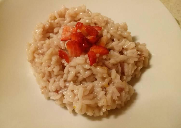 How to Prepare Speedy Strawberry risotto