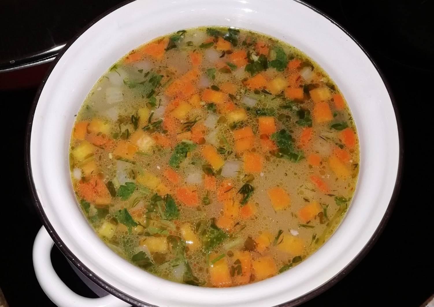 Рецепты простые легкие супы с фото