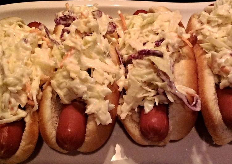 Information on How to Improve Your Mood with Food Steamed Hotdogs With Coleslaw