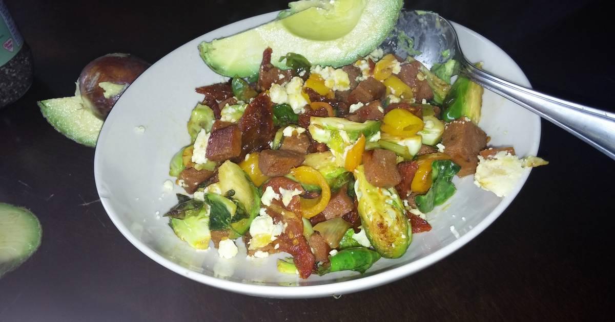 Chorizo Spam and Vegetables Saute