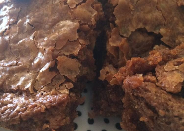 Lindor Brownies with pepitas