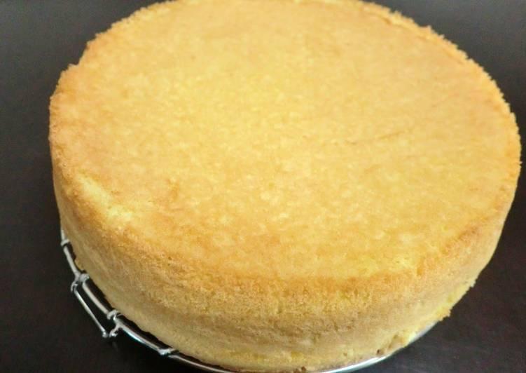 Fluffy Sponge Cake & 3D Cake