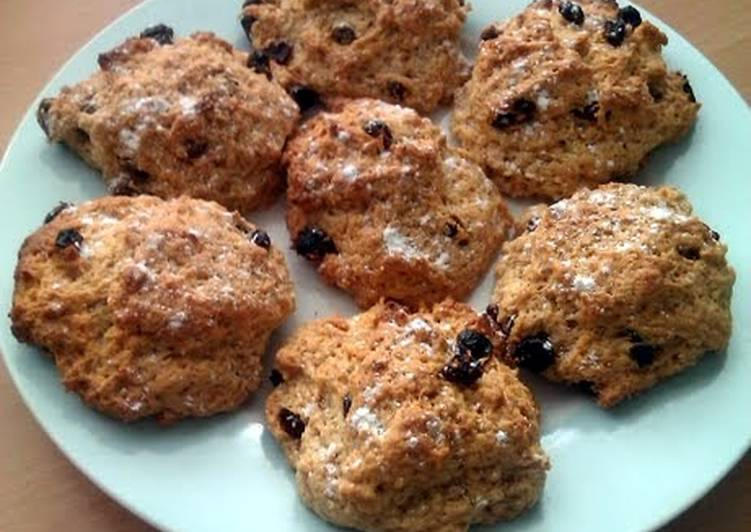 Recipe of Super Quick Homemade Vickys Rock Cakes, GF DF EF SF NF