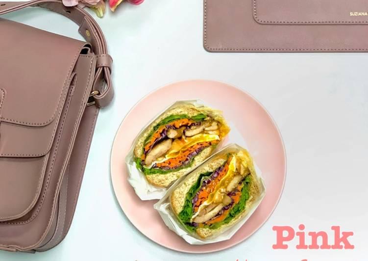Chicken Grill Wanpaku Sandwich - velavinkabakery.com