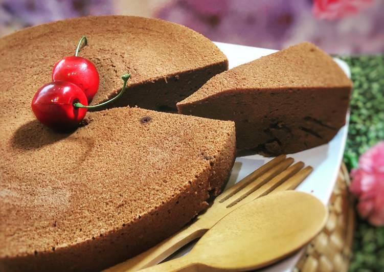 Chocolate Steam Cake ala Tiger Kitchen