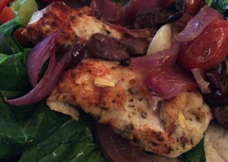 Steps to Prepare Favorite Baked Greek Chicken