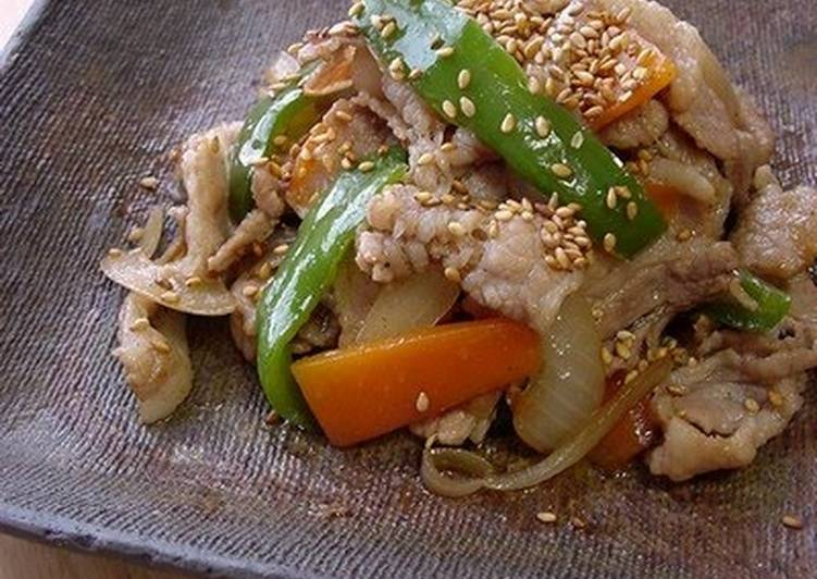Discover How to Boost Your Mood with Food Pork, Sesame Seed & Ginger Stir Fry