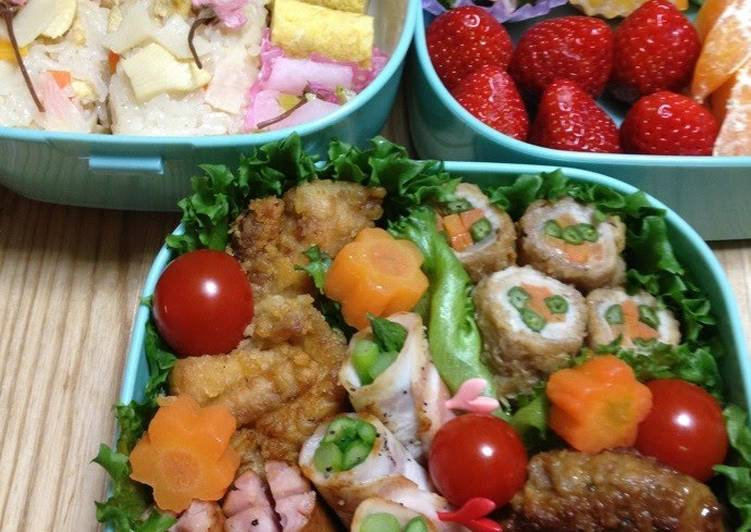 Your Health Can Be Impacted By The Foods You Choose To Eat Cherry Blossom Viewing Bento