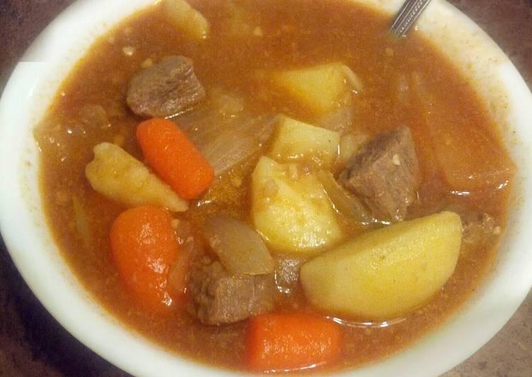 Beefy Vegetable Stew