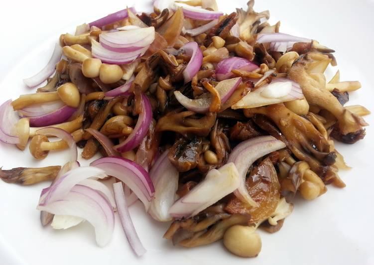 LG's Stir Fry Mushroom