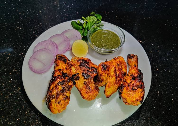 Easiest Way to Prepare Favorite Chicken Tandoori without oven