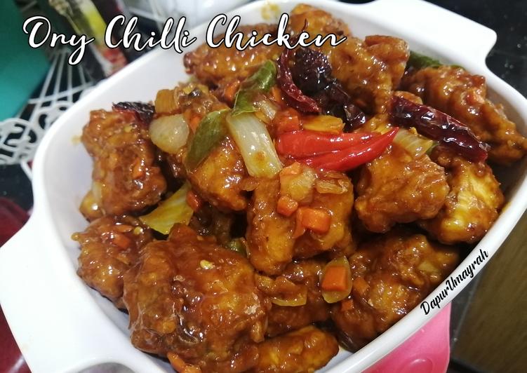 Dry Chilli Chicken - velavinkabakery.com