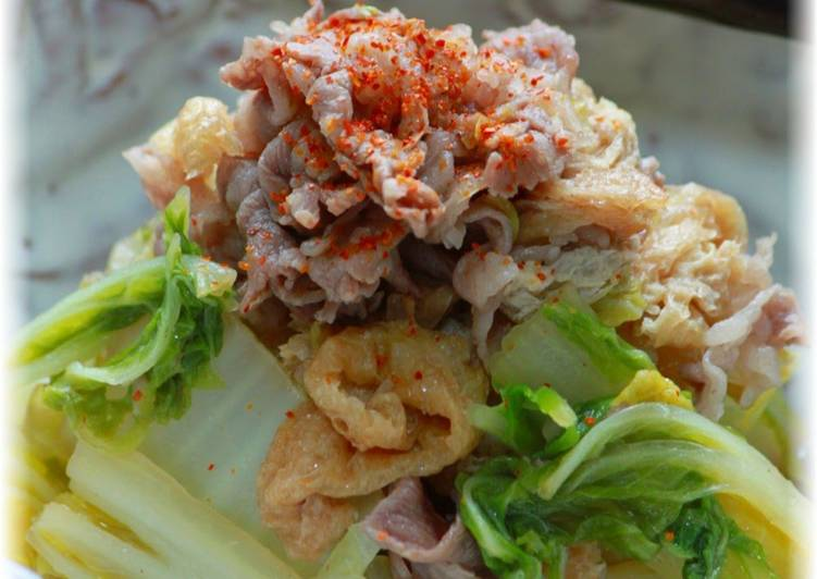 The Best Dinner Ideas Vegan Steam-Simmered Beef and Chinese Cabbage