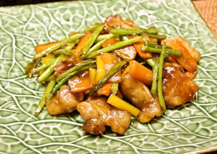 How to Prepare Super Quick Homemade Super Fast Chicken Thigh and Five Spice Teriyaki