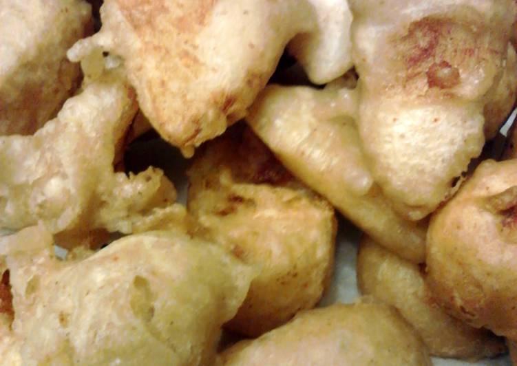 Steps to Make Award-winning Battered N Deep Fried Potato Wedges