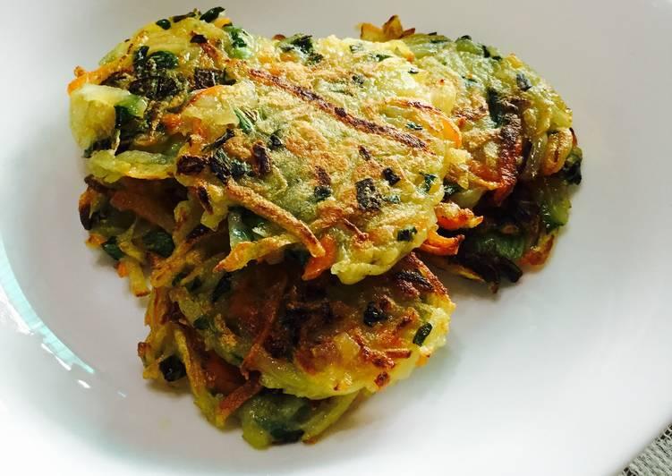 Healthy Vegetable Hash Brown