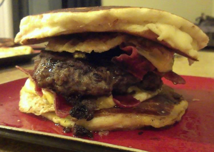 Pancake burgers
