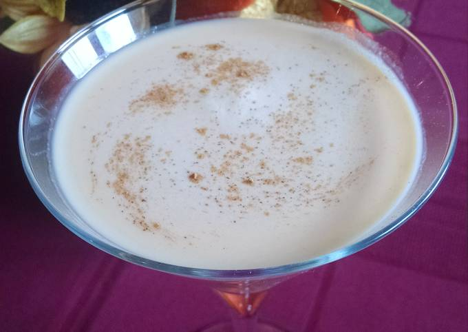 Crème Caramel Pumpkin Martini
