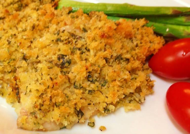 Simple Way to Make Favorite Horse Mackerel with Herbed Breadcrumbs