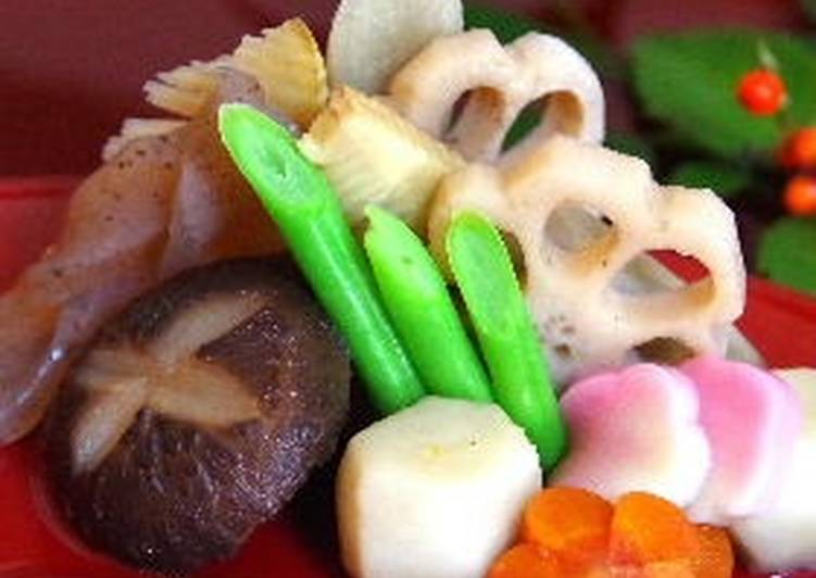 15 Minute Recipe of Cooking Delicious Chicken Stew with Root Vegetables for New Year's