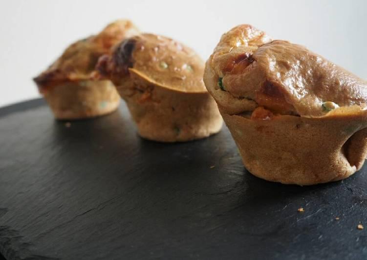Les 9 Meilleures Recettes de Muffins petits pois et cheddar