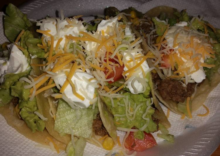 How to Make Super Quick Homemade Easy & Delicious Ground Beef Tacos