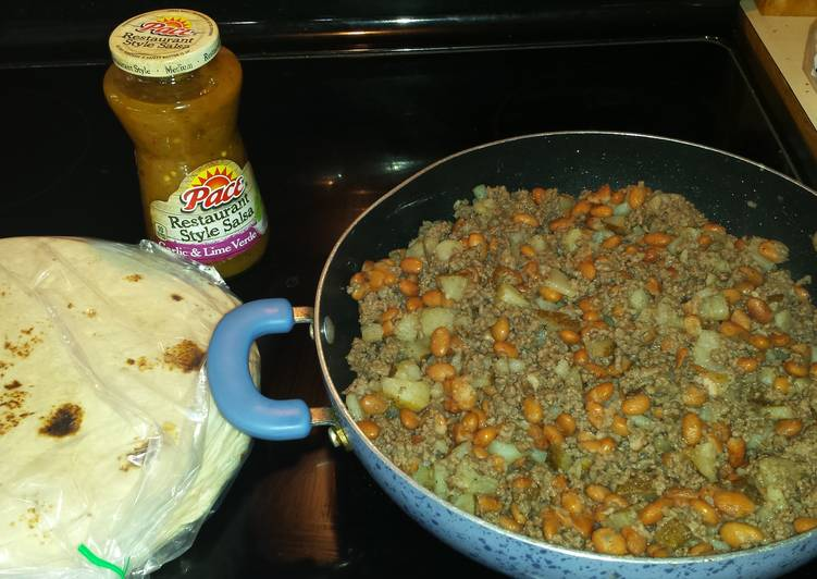 Easiest Way to Make Tasty GameDay burritos..
