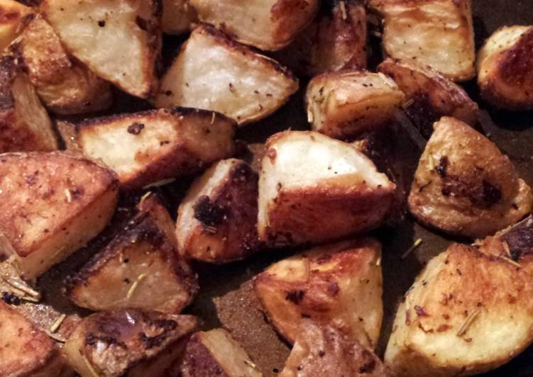Roasted Rosemary White Potatoes