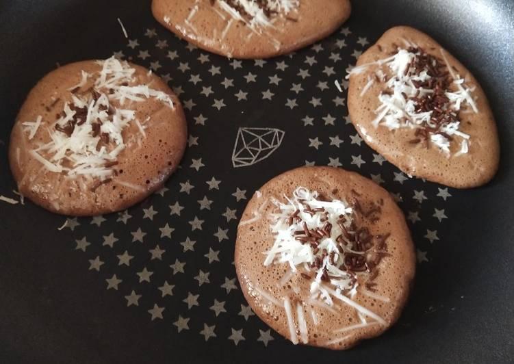 Resep Pancake Coklat Paling Enak